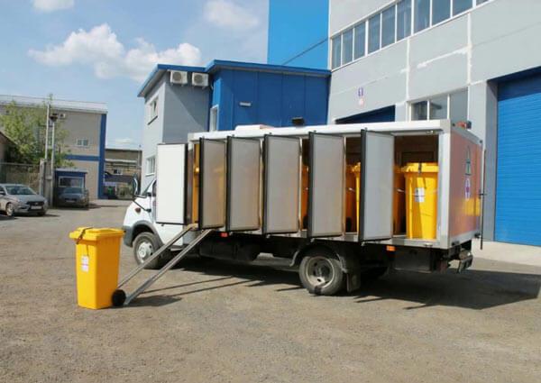 Фирма с лицензией на транспортирование медицинских отходов