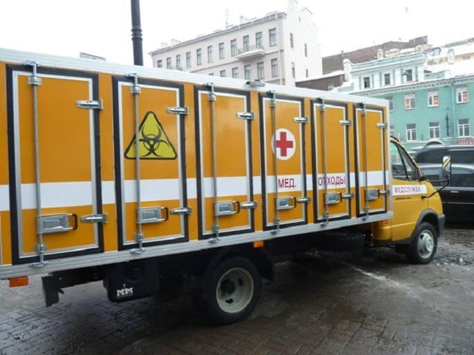 Фирма с лицензией на вывоз медицинских отходов