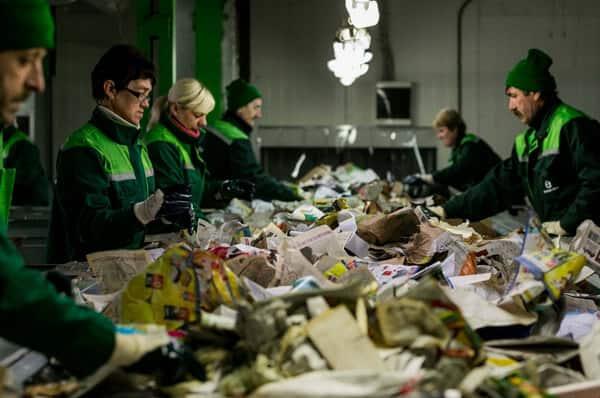 Лицензия на сортировку мусора